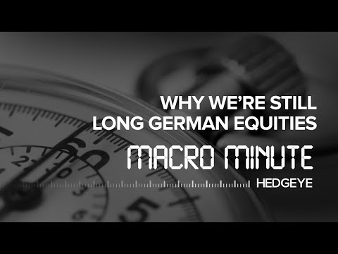 Macro Minute: Why We're Still Long German Equities