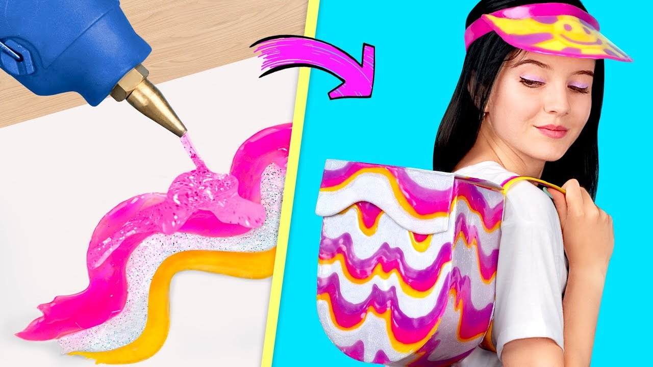 8 Epic Hot Glue Gun Hacks You Must Know Youtube