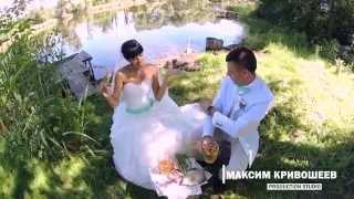Зажигательный, весёлый, по своему безбашенный свадебный клип на песню  Потапа и Настя - Уди Уди.