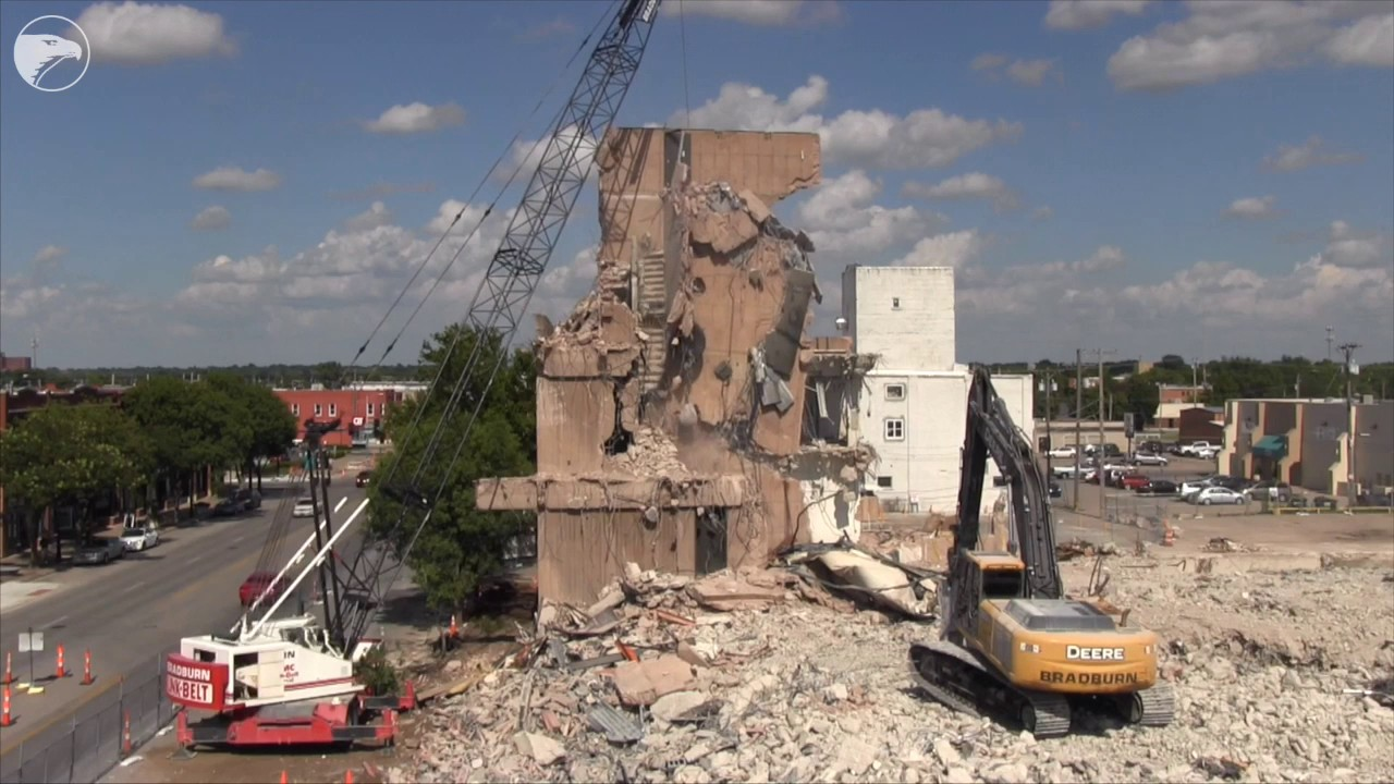 wrecking ball demolition youtube