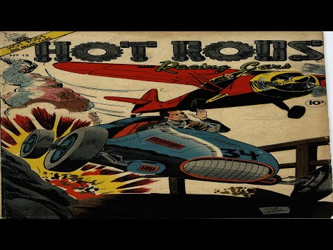 Hot Rods and Racing Cars No 13 Comix Book Movie
