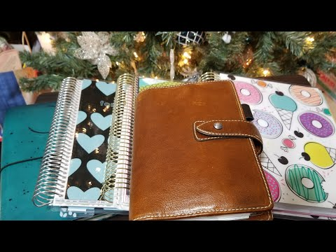 2018 Planner Setup || The planners & their uses || Maybe I'll be organized