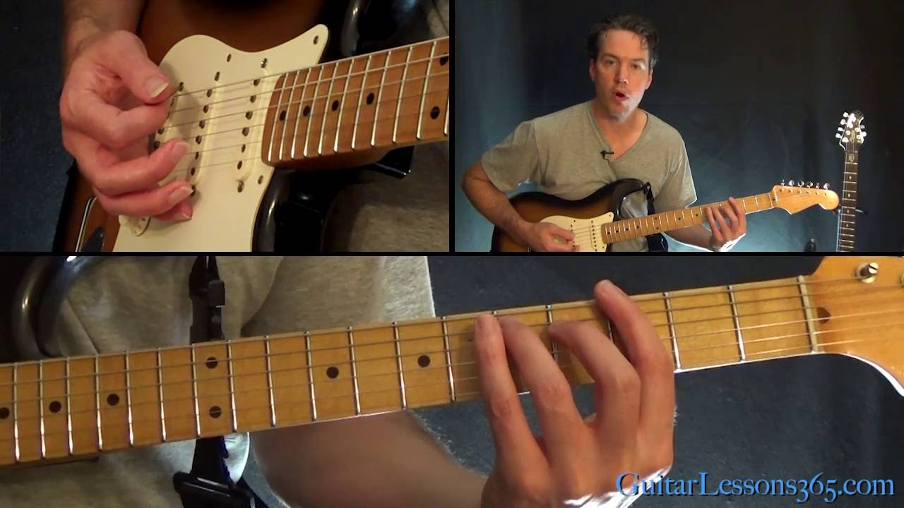 The Beatles Twist And Shout Guitar Lesson Youtube