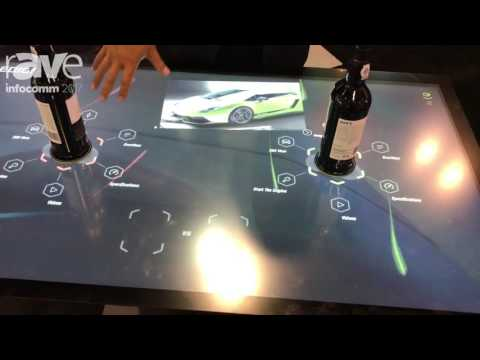 InfoComm 2017: DISPLAX Multitouch Technologies Shows Off Object Recognition Table