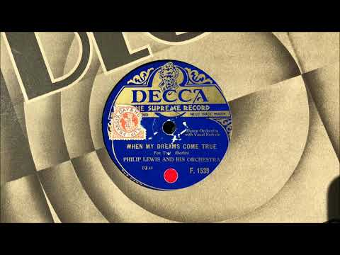 "The Rhythm Maniacs (v. Elsie Carlisle) - ""When My Dreams Come True"" (1929)"