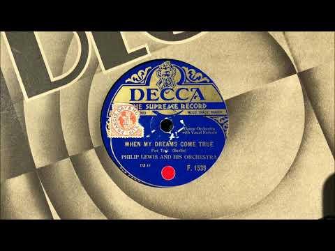 "The Rhythm Maniacs (v. Elsie Carlisle) - ""When My Dreams Come True"" (1929)"