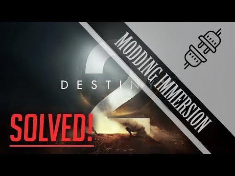 Un soluzione per gli errori di rete su Destiny 2?! - [MODDING IMMERSION]