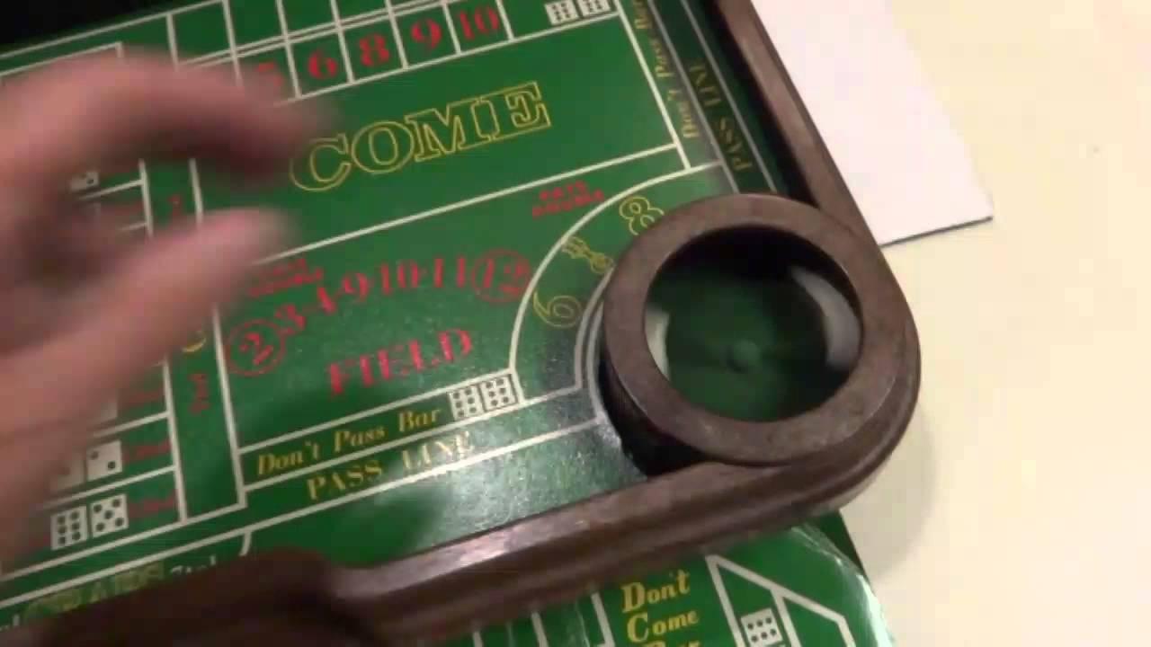 Craps betting pass line odds