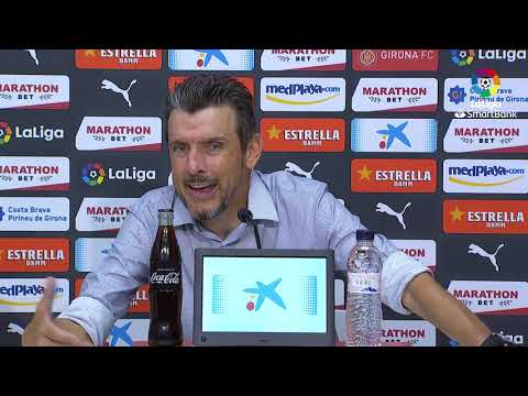 Press conference Juan Carlos Unzue Girona FC vs Real Sporting (1-1) from YouTube · Duration:  15 minutes 42 seconds