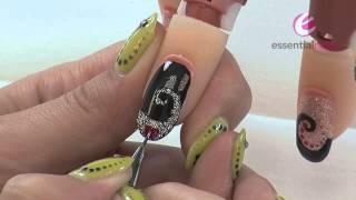 Kaya Cardwell - Gelaze® Valentines - Nail Art Tutorial