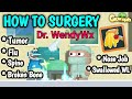 PRO SURGERY TUTORIAL (100% WORK GET Dr. RED NAME & ANGEL OF MERCY WING) | GROWTOPIA