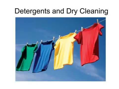 OCR Gateway C6 Detergents And Dry Cleaning (Higher)