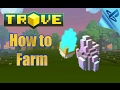 TROVE - how to farm radiant shards [tutorial] guide ps4 gameplay 2017