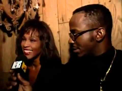 Whitney houston interview at bobby brown's birthday