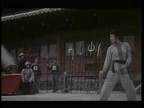 Fragment of kungfu movie