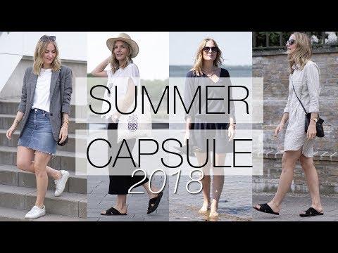 Summer capsule wardrobe | Part 2: overview, haul & lookbook