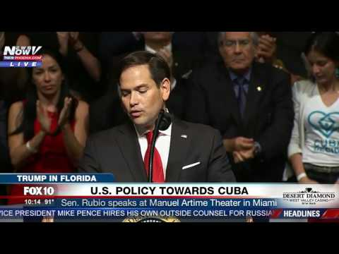 FULL SPEECH: Sen. Marco Rubio Speaks About President Trump's Plan for Cuba During Miami Event