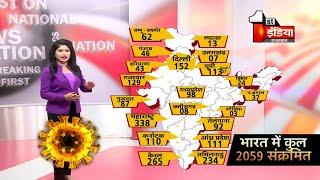 Covid-19: भारत मे 2059 हुए Corona पॉजिटिव, देखिए किस राज्य में कितने पॉजिटिव  | 2 April 2020