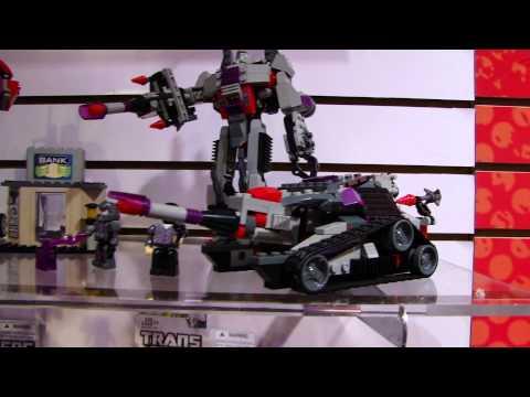 Kre-O Transformers Optimus Prime vs Megatron - Toy Fair 2012