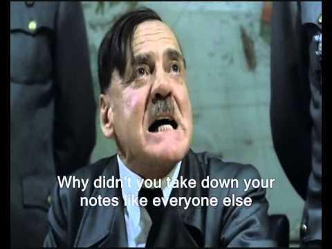 Hitler prepares for the Junior Cert