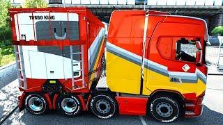 1.32 GÜNCELLEMESİ [ÖZEL DORSE GELİŞTİRMESİ] // Euro Truck Simulator 2