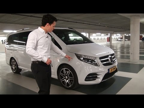 2017 Mercedes V Class - More Space with S Class Luxury? V250d AMG Long Review and POV Drive