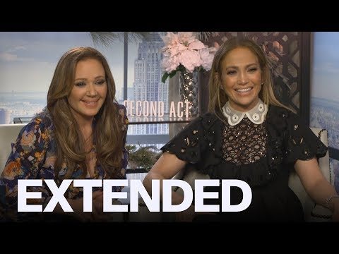 Leah Remini, Jennifer Lopez On Being BFFs In 'Second Act' | EXTENDED Mp3