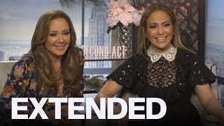 Leah Remini, Jennifer Lopez On Being BFFs In 'Second Act' | EXTENDED