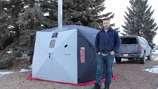 8 Weeks Winter Camping - Fifth Week, -25 Degrees In April