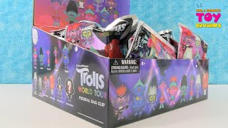 Trolls World Tour Figural Bag Clip Full Box Unboxing | PSToyReviews