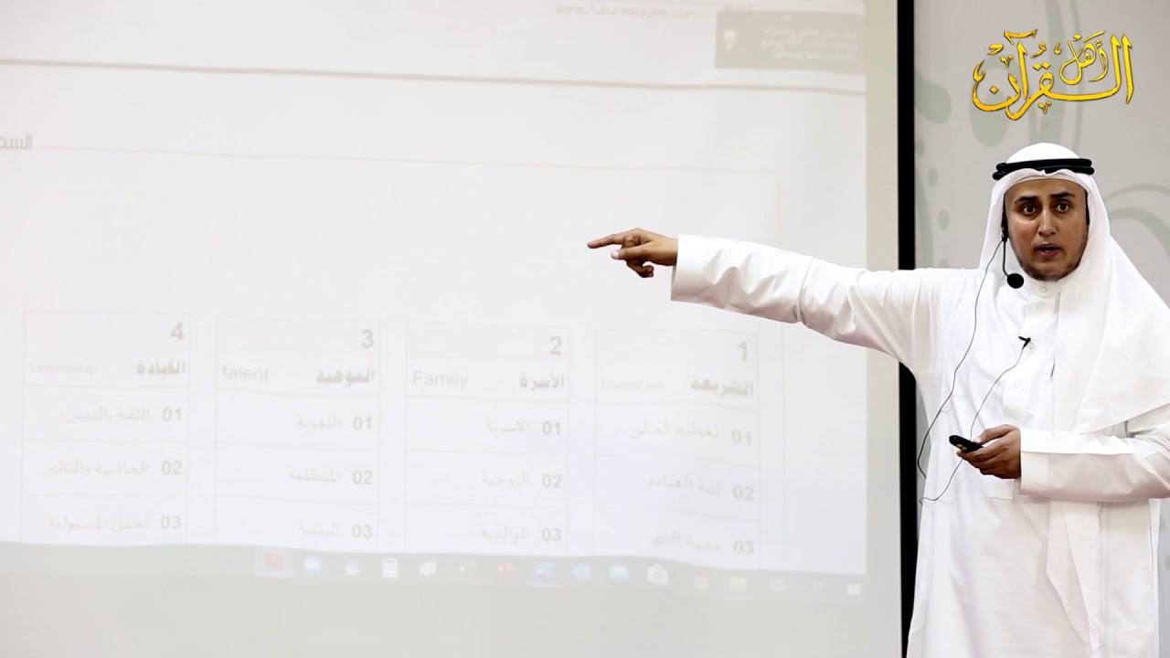 اللقاء التدريبي بعنوان صناعة حافظ | المدرب عدنان عبدالرحمن جمل الليل | الحلقة الثالثة