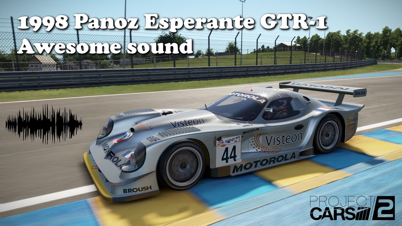 1998 Panoz Esperante GTR-1 awesome sound - YouTube
