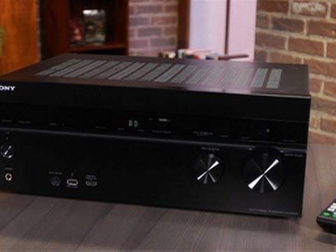 A temptingly modern AV receiver
