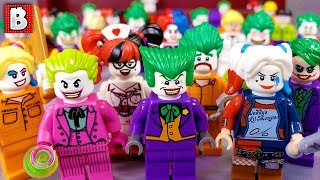 Every LEGO Joker and Harley Quinn Minifigure EVER MADE! 2019 Update