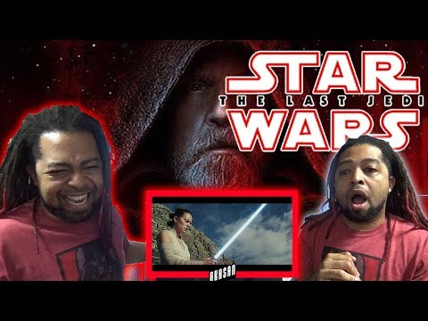 Thumbnail: Star Wars: The Last Jedi Trailer (Official) REACTION & REVIEW !!! (Don't choke on your aspirations)