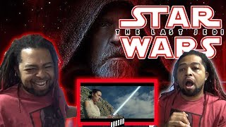 Star Wars: The Last Jedi Trailer (Official) REACTION & REVIEW !!! (Don't Choke On Your Aspirations)