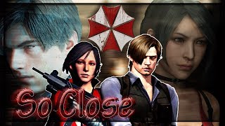 ► Leon S. Kennedy Andamp Ada Wong ϟ Resident Evil  ♣ So Close ♣ - For My Husband Dimitry