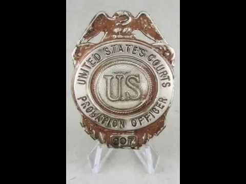 The Making Of The United States Probation System 75th Anniversary Commemorative Badge