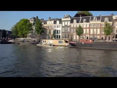 Amsterdam (the Netherlands) - Canal Cruise July 2014