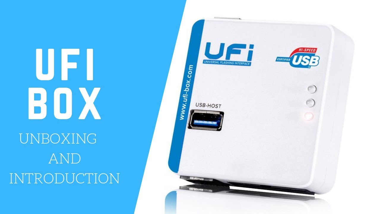 UFI Box Unboxing And Introduction