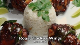 Asian Style Roast Turkey Wings Cheekyricho