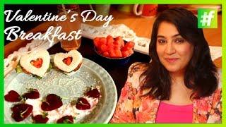 #fame Food - Sandwiches And Beetroot Feta Salad | Valentine's Day Breakfast | Amrita Rana