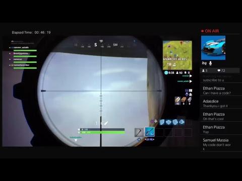 Fortnite gameplay/Fortnite Mobile code/link giveaway
