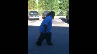 300 pound back flip (no hands)