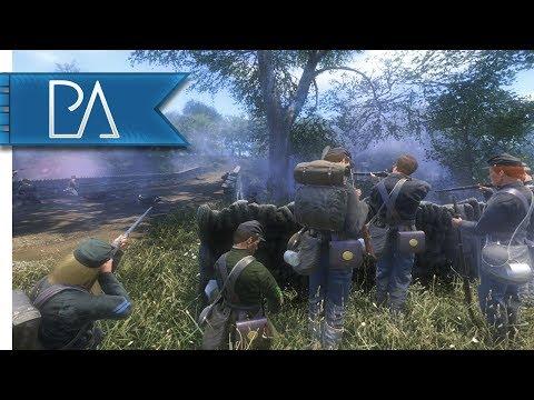 Crossing Burnside's Bridge: New Skirmish Mode - War of Rights Gameplay