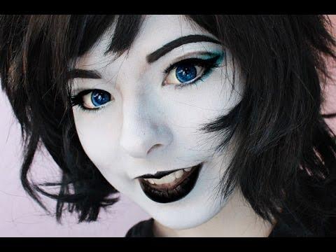 Terezi Makeup Tutorial (Homestuck Cosplay) - YouTube