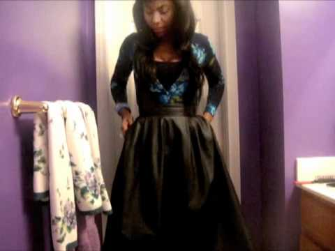 OOTD Faux-Leather Skirt - YouTube