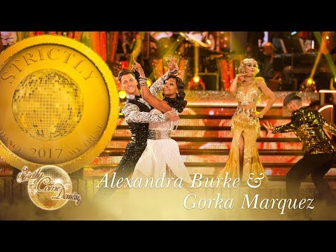 Alexandra and Gorka Quickstep to 'The Gold Diggers' Song' - Strictly Come Dancing 2017