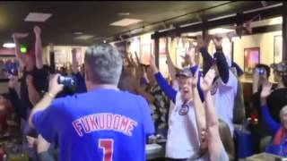 Go Cubs Go: Fan Reactions to the 2016 Cubs World Series Win
