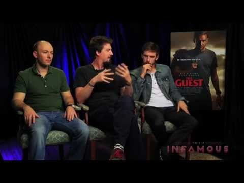 Dan Stevens, Adam Wingard & Simon Barrett Interview - THE GUEST - This Is Infamous